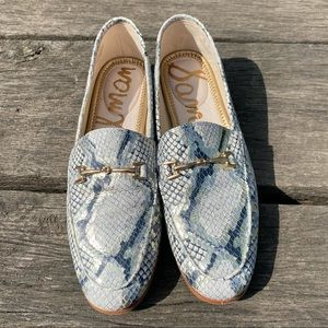 Sam Edelman Lorain snake print loafers